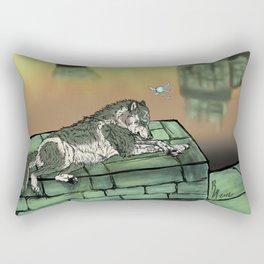 Wolf Link & Navi Rectangular Pillow
