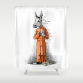 No Pay Shower Curtain