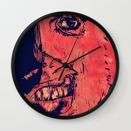 Icons: Leatherface Wall Clock