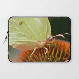 Eye of a yellow butterfly Laptop Sleeve