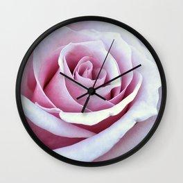 Blushing Bloom Wall Clock