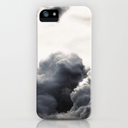 clouds pass by  iPhone Case