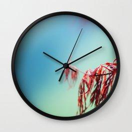 Blue Melody Wall Clock