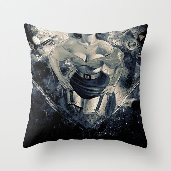 Space Breaker Throw Pillow