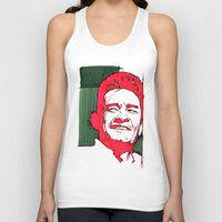 johnny cash Tank Tops featuring CASH by Ruddiger