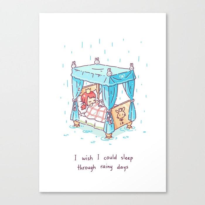 Rainy Days 2 Canvas Print