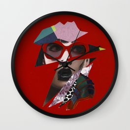 Starstruck (A Moment of Madness on Rodeo) Wall Clock