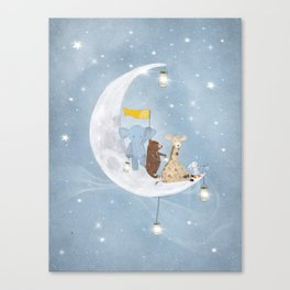 starlight wishes with you Canvas Print