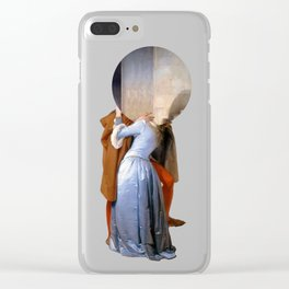 the kiss hayez Clear iPhone Case