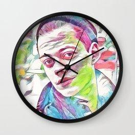 Bill Skarsgard (Creative Illustration Art) Wall Clock