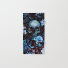 Skull and Flowers Hand & Bath Towel