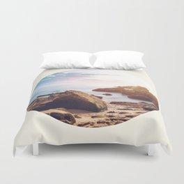 Rocky Beach Duvet Cover