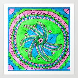 Polysexual pattern Art Print