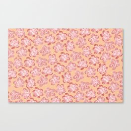 Wallflower - Coralette Canvas Print