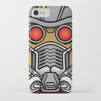 star lord iPhone & iPod Cases featuring Star Lord by Ryan the Foe