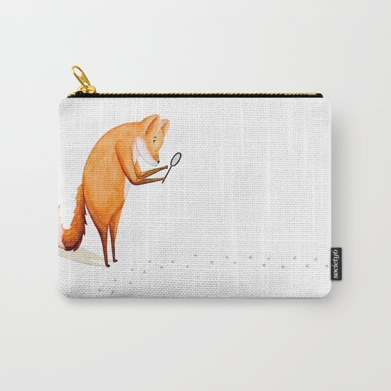 Foxy Detective Carry-All Pouch