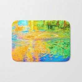 Rainbow Tarpit Bath Mat