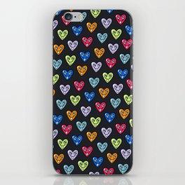 LOVE HEARTS iPhone Skin