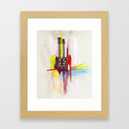 Jimmy Page's Gibson Framed Art Print