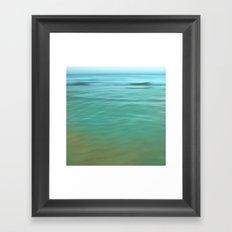 Smooth Wave  Framed Art Print