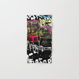 New York Traces - Urban Graffiti Hand & Bath Towel