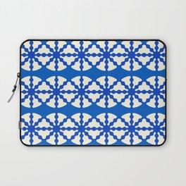 Blue Pattern Laptop Sleeve