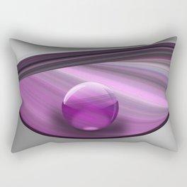 Lilac Ball  Rectangular Pillow