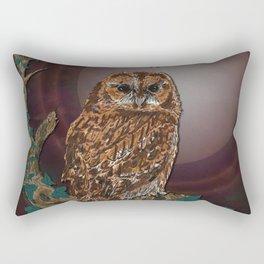 Tawny Owl Rectangular Pillow