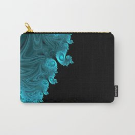 Black Ice - Fractal Art Carry-All Pouch