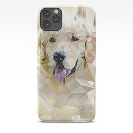 Golden Retriever (Low Poly) iPhone Case