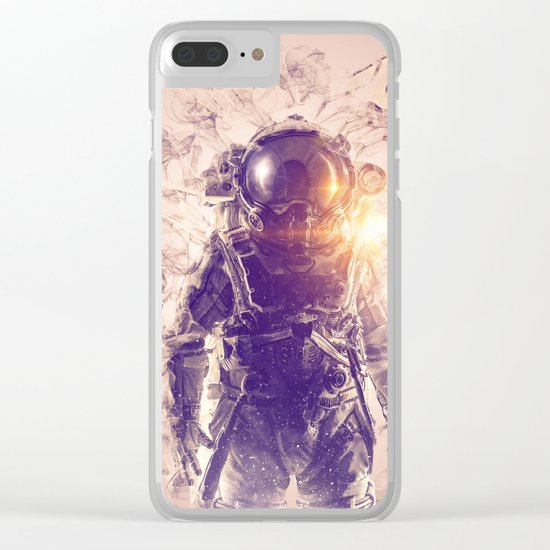 Extinction-3 Clear iPhone Case