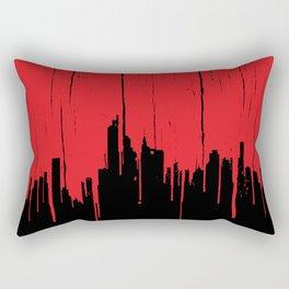 Paint it Red Rectangular Pillow