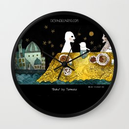 """Baku"" illustration Tarmasz Wall Clock"