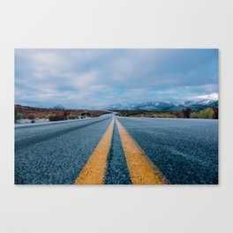 The Road (Color) Canvas Print