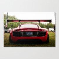 audi Canvas Prints featuring Audi R8 by ElijahLanePhoto