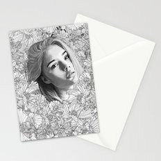 One in paradise Stationery Cards