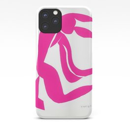 Henri Matisse, Rose Freedom, Nude (Pink Freedom, Nude) lithograph modernism portrait painting iPhone Case