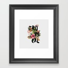 Tropical I Framed Art Print