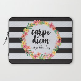 Carpe Diem / Seize The Day Quote Laptop Sleeve
