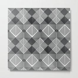Pattern K 10 Metal Print