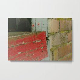 Painted Wood - Mount Vernon, WA Metal Print