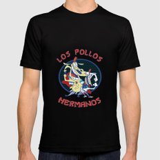 Los pollos hermanos Black MEDIUM Mens Fitted Tee