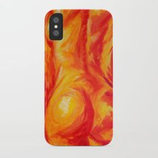 Abstract body iPhone X Slim Case