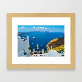 Santorini ii Framed Art Print