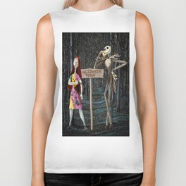 Halloween Town | Jack | Sally | Christmas | Nightmare Biker Tank