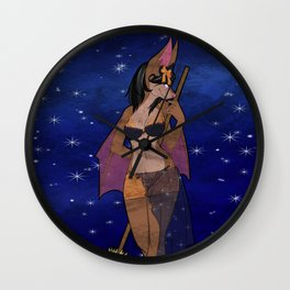 Witchy Woman Wall Clock