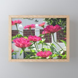 pretty pink Framed Mini Art Print