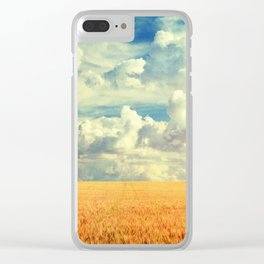 Down to Earth Clear iPhone Case