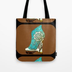 Winter Following Directions Tote Bag