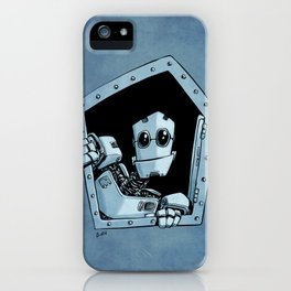 Knock, knock iPhone Case